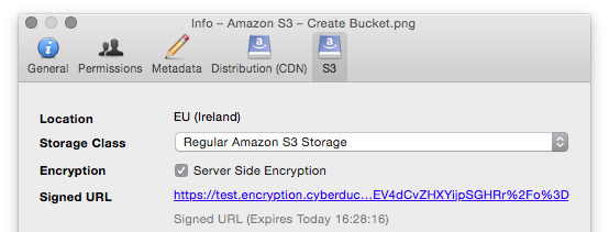 S3 Server Side Encryption