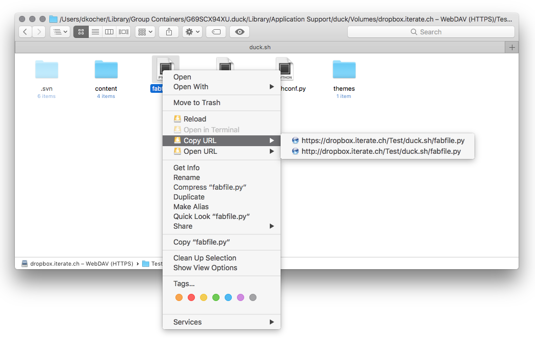 Finder Extension